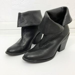 Lucky Brand 'Ethann' Fold Over Heels Leather Boots